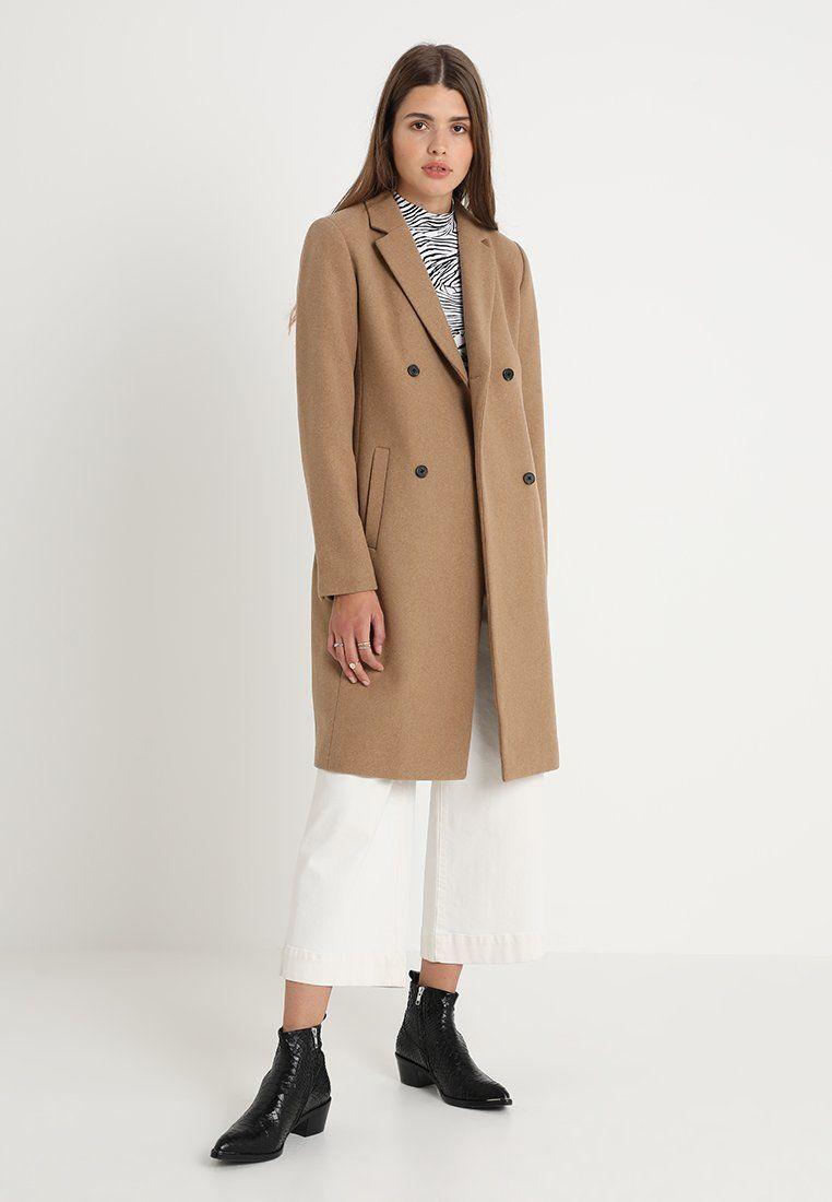 Modström ODELIA COAT Wollmantelklassischer Mantel brown