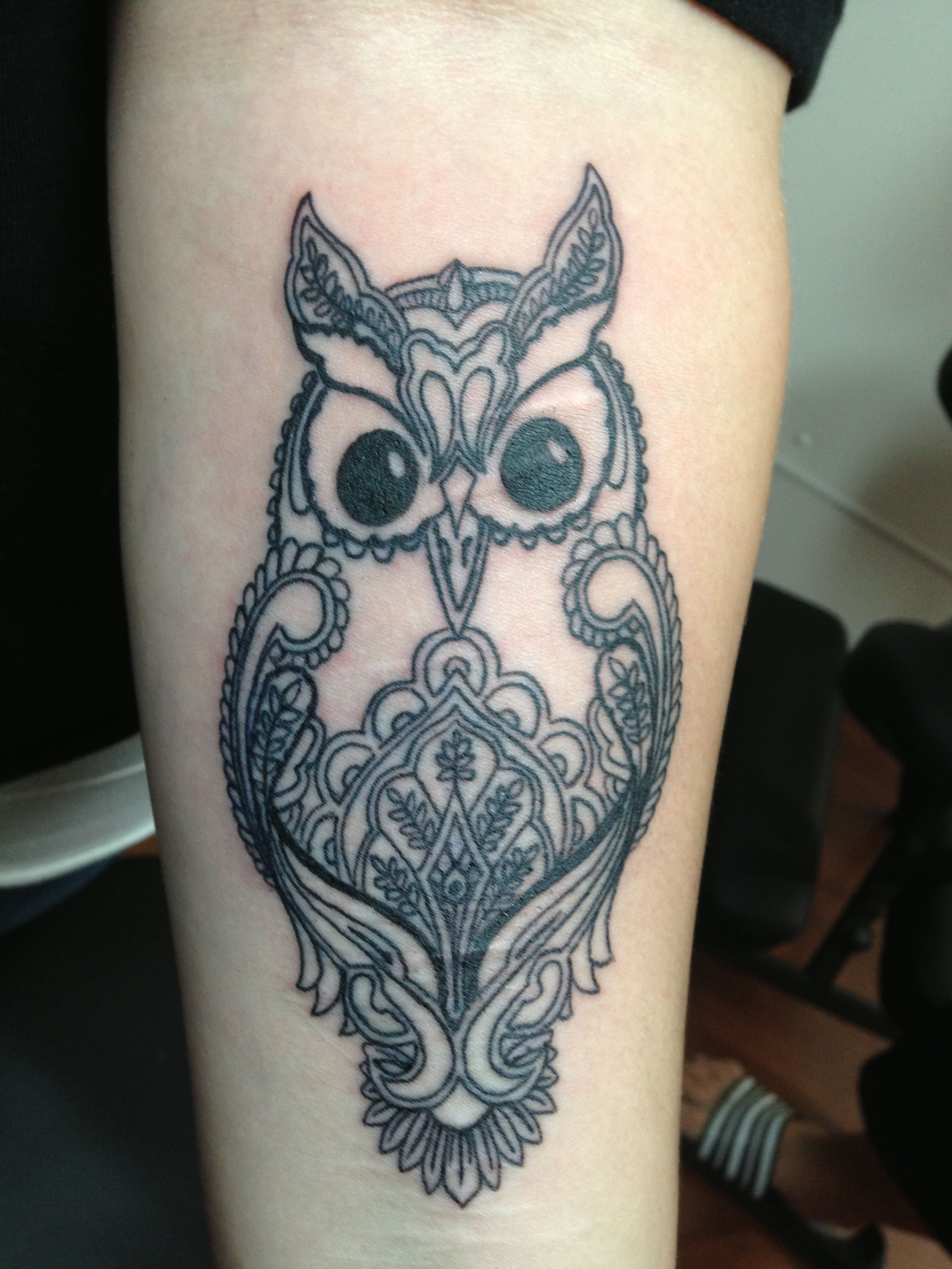 Mehndi Style Owl Tattoosbywojo Tattoos Tattoo Wojo Owl Tattoos Mehndi Tattoo Tattoo Designs