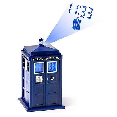 Doctor who -tardis #projection #alarm #clock - brand new - free p&p,  View more on the LINK: http://www.zeppy.io/product/gb/2/301365246006/