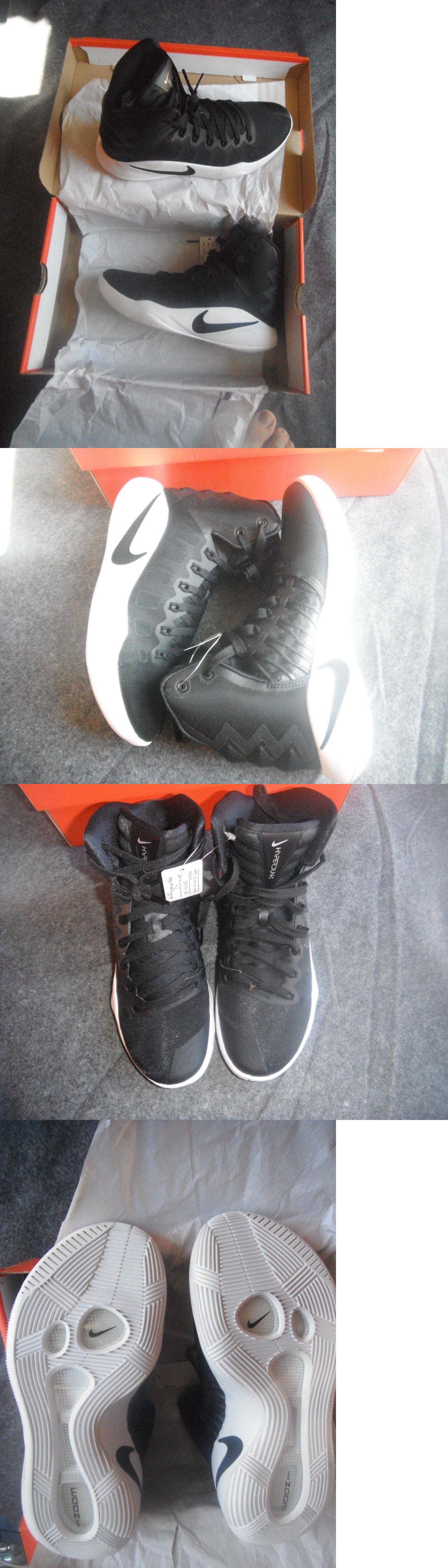 newest a8ca9 2e164 Men 158971  Men S Nike Hyperdunk 2016 Tb Basketball Shoes Black Black-White  Nib