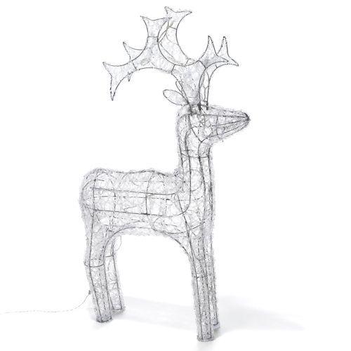 Renne lumineux (Led) - Noël Traditionnel  #Blachère  #Alinéa #Noël2013
