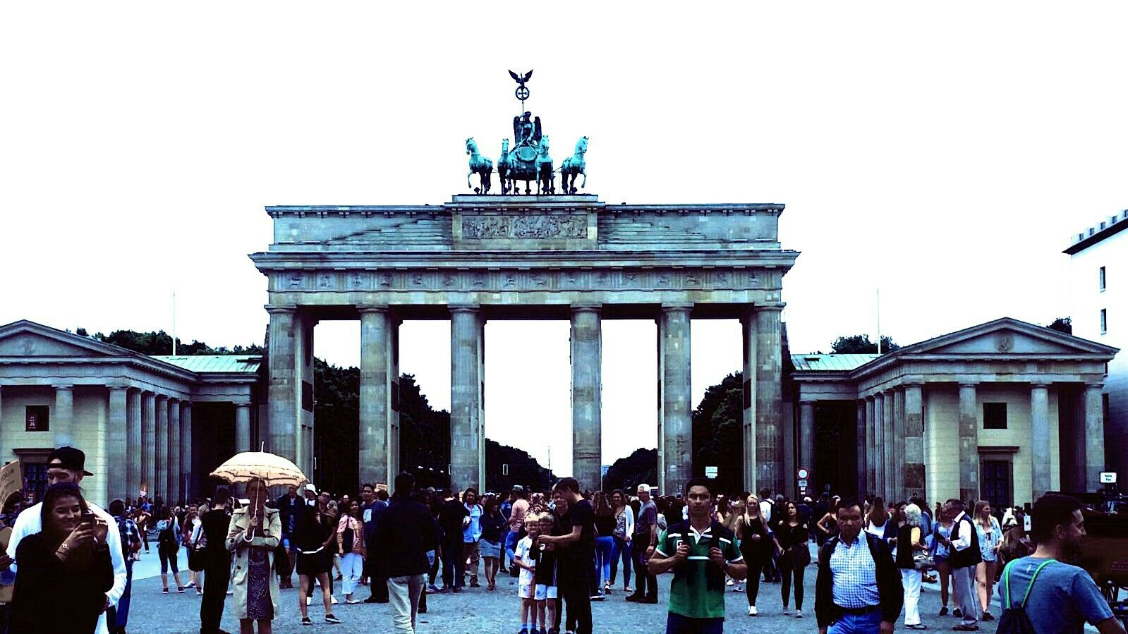 Berlin Germany Brandenburg Gate Berlin Germany Street View