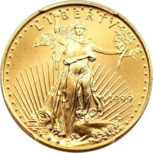 1999 P 10 American Eagles Gold Gold Eagle Ten Dollar Ms69 Pcgs You Can Get Additional Details At The Image Link Th Gold Coins Coins Gold Eagle