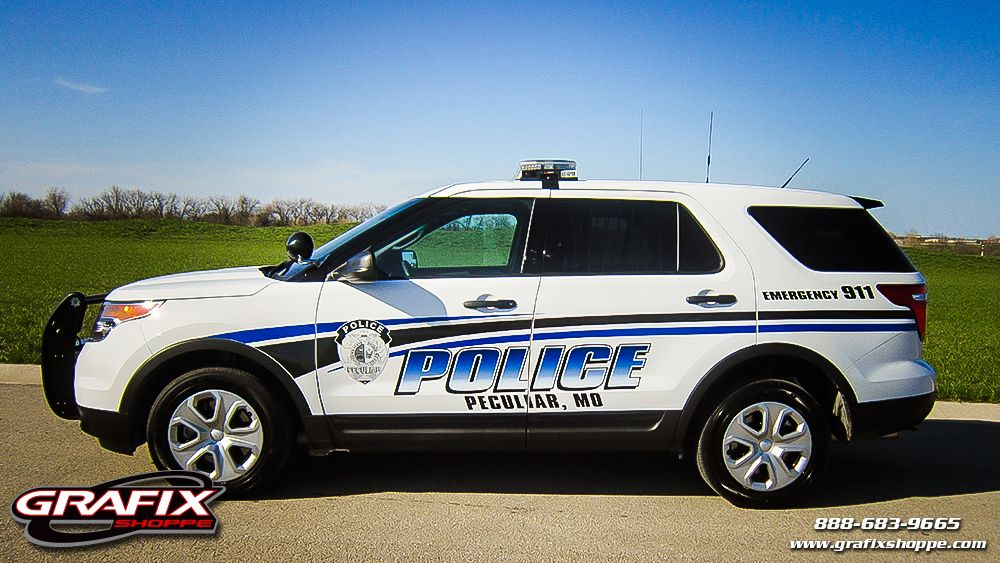 Peculiar Police Department Missouri Police Cars Ford Explorer Interceptor