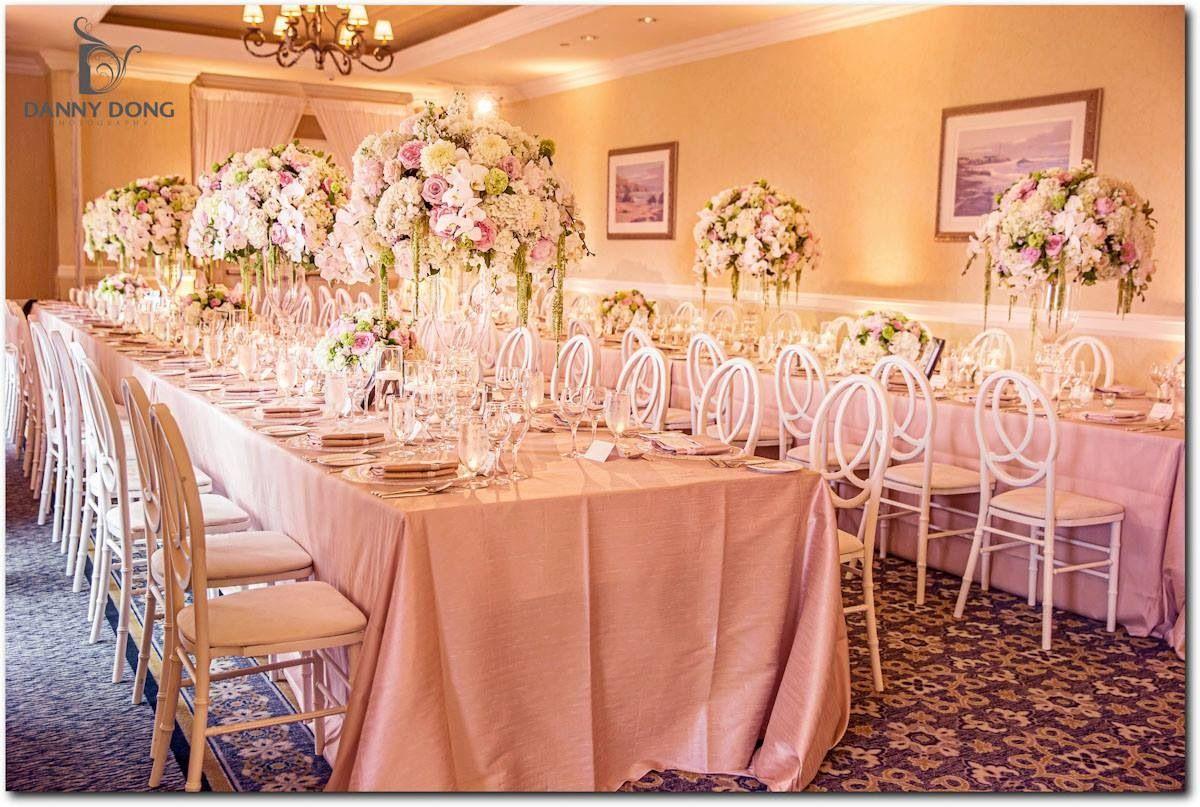 table setting at ritz carlton half moon bay www