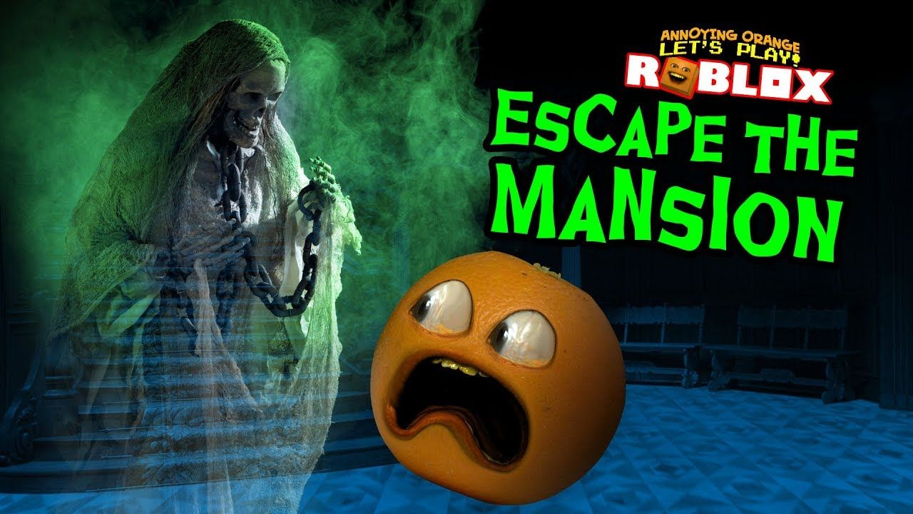 The Scary Mansion Roblox Escape The Haunted Mansion Roblox Obby Roblox Annoying Orange Haunted Mansion