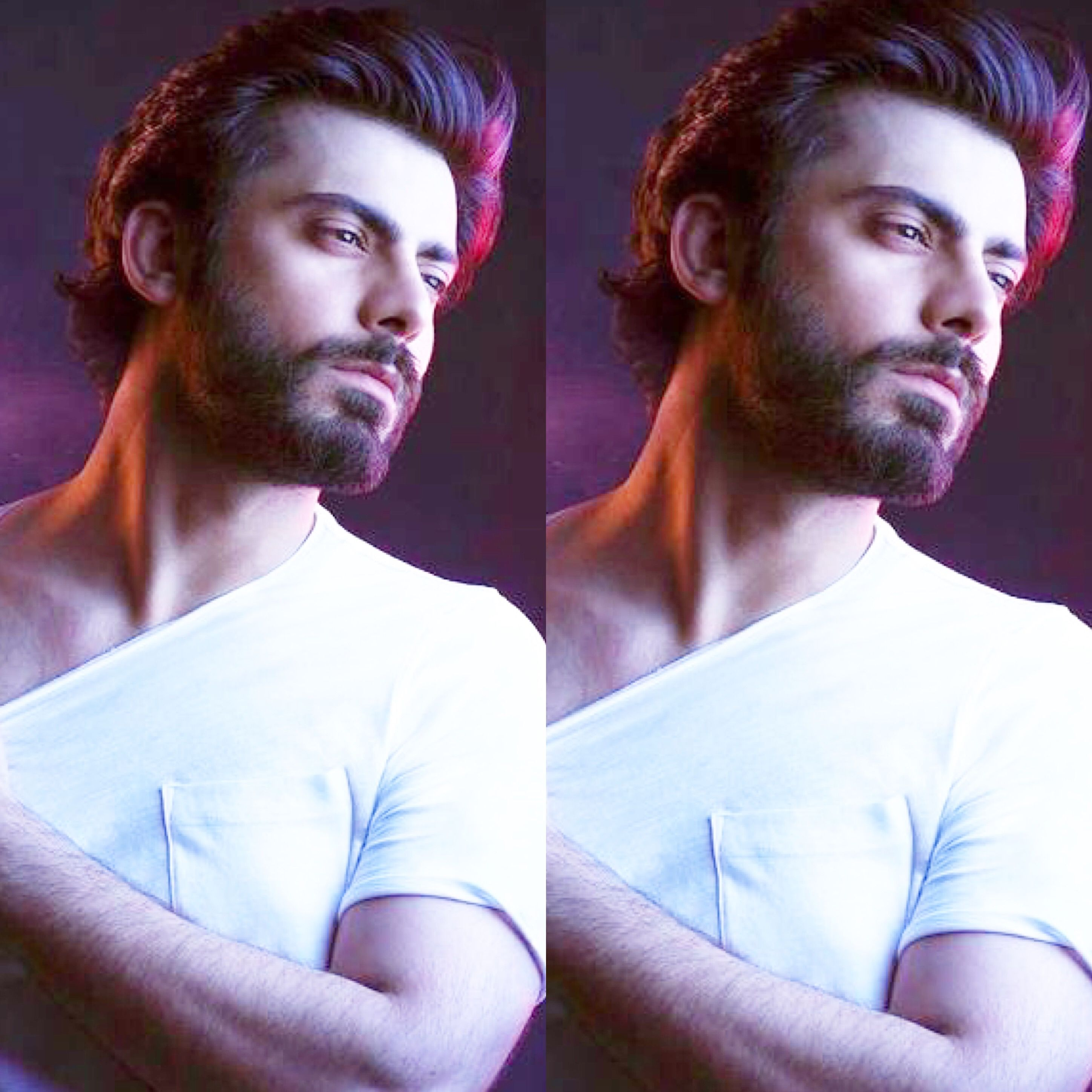 That Jawline And Neck Muscles Tho Fawad Hottie Khan Actors