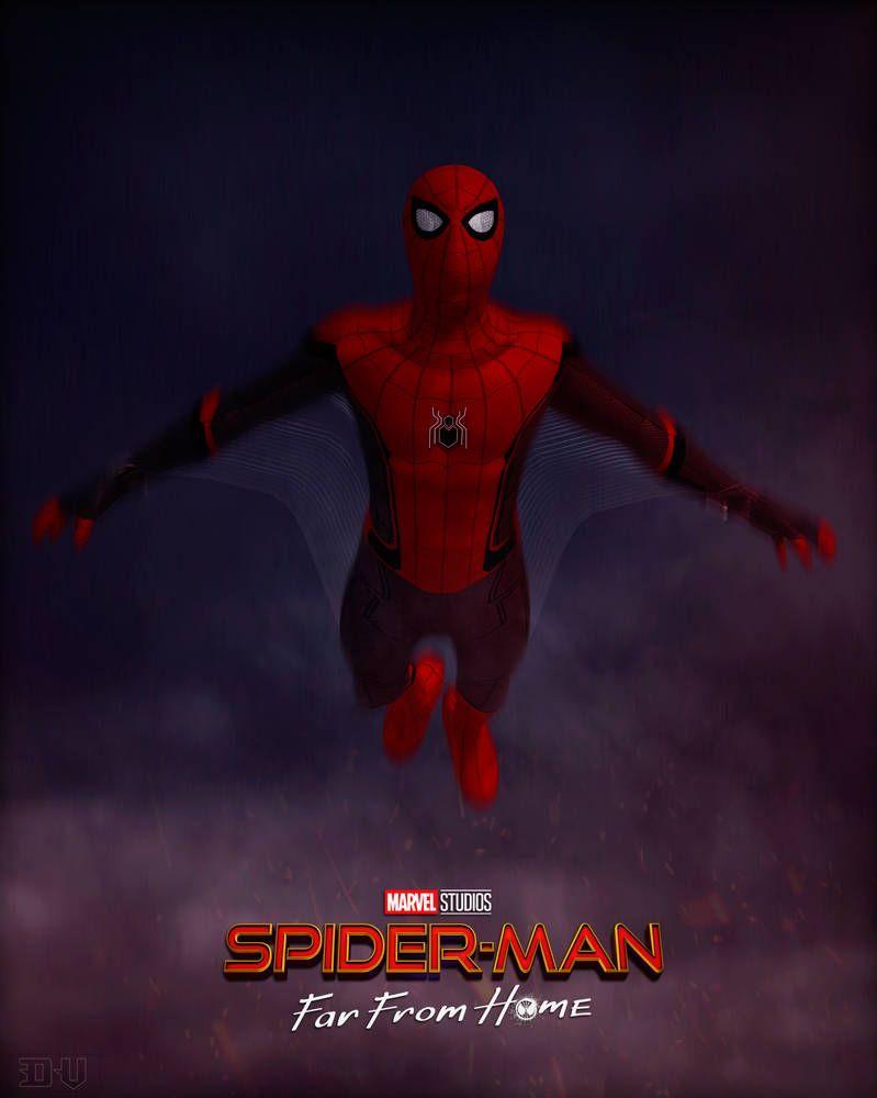 Spider Man Far From Home By Https Www Deviantart Com Dv Arts79 On Deviantart Películas Completas Gratis Películas Completas Spider Man