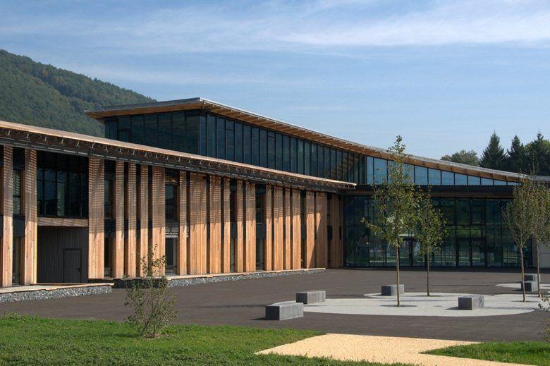 Collge de Chirens, Chirens, 2012 - Herault Arnod Architectes