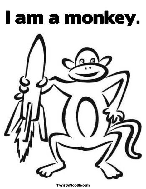 Pin By Wally Luther On House Interior Decor Monkey Coloring