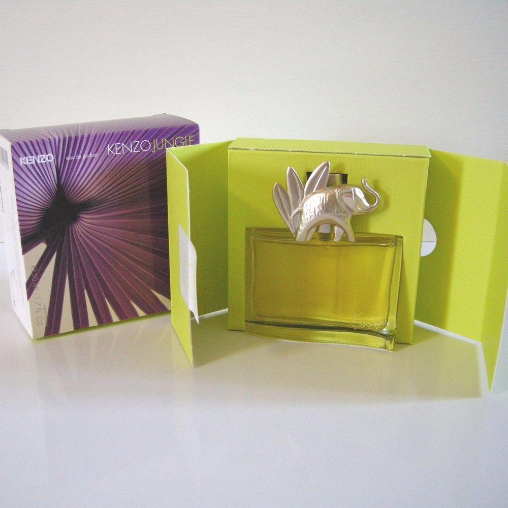 Women's Kenzo Eau Parfum Oz De 50ml 7 France 1 Jungle Elephant WID2HE9