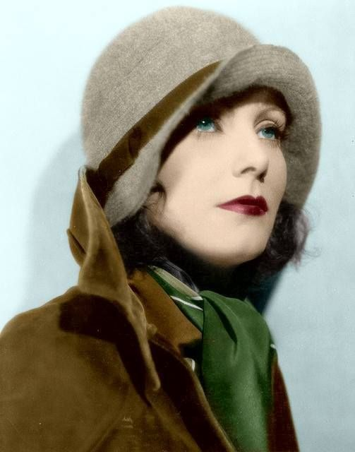 Greta Garbo, the Swedish well-known actor.