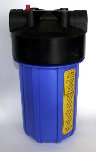 Water Filter Housing 10 Big Blue Or Bb Water Filter Housing With 1 Fnpt In Out Using A Housing With A Water Water Filter Water Filter Cartridge Filters