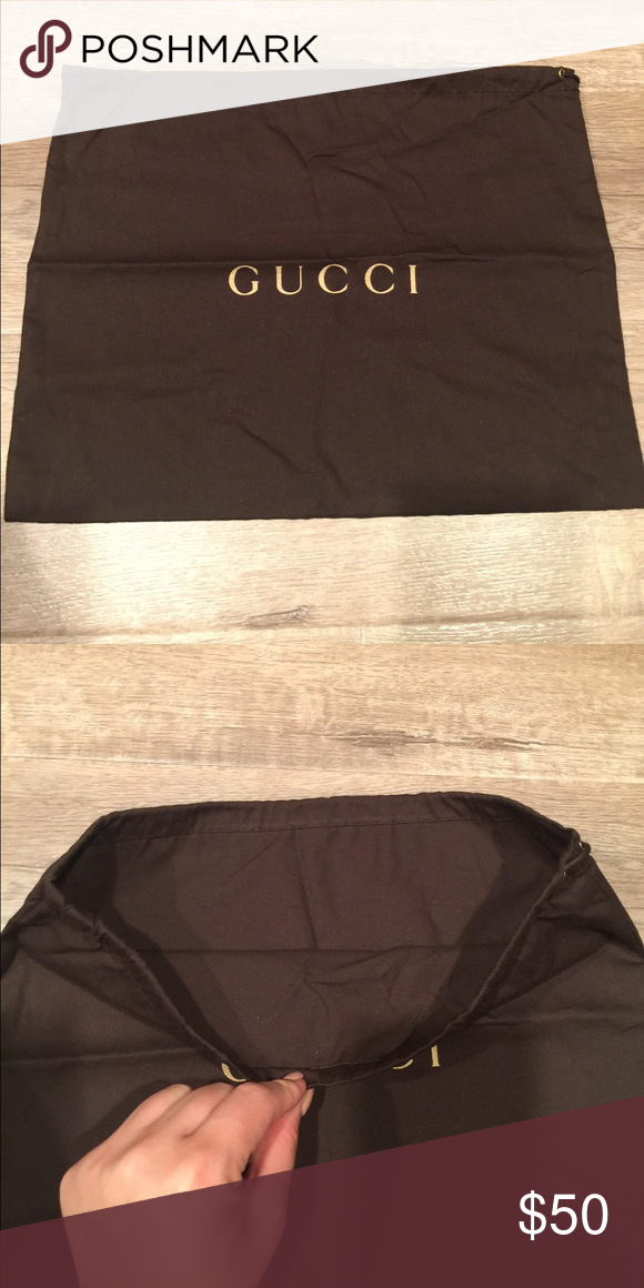 100 Gucci Dust Bag New Never Used Bags Totes