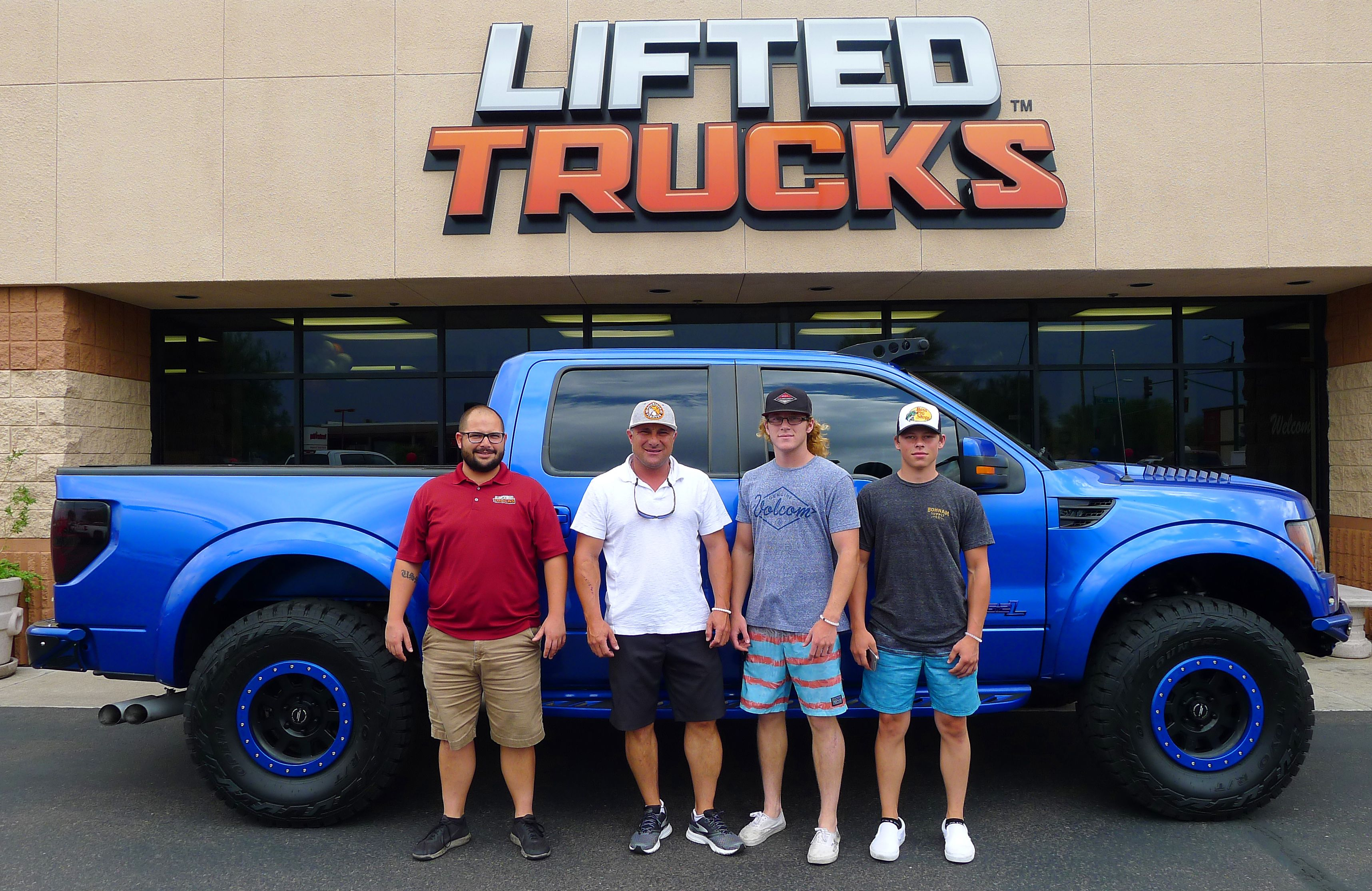 Lifted Trucks Customers With Their New Custom Built Ford Svt