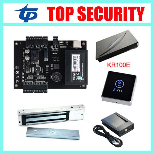 ZK linux system smart card one door access control system C3
