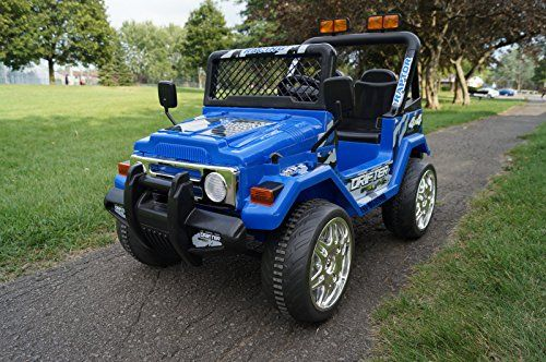 S618f Small Blue Jeep Wrangler Ride On Car For Kids 2 7 Y Https