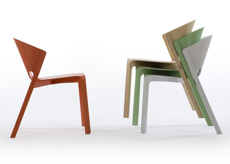 This Chair By Industrial Designer Benjamin Hubert Features A T