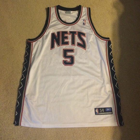 best service 47c68 0738f Authentic Jason Kidd NJ Nets Jersey New Jersey Nets ...
