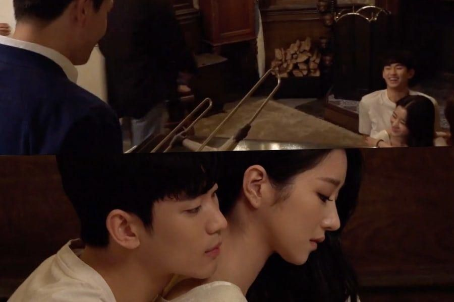 "Watch: Kim Soo Hyun And Seo Ye Ji Get Teased By Oh Jung Se Over Their Romantic Poster Shoot For ""It's Okay To Not Be Okay"""