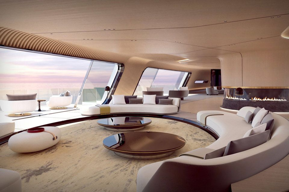 Oceanco Tuhura Superyacht Yacht Interior Design Luxury Yacht