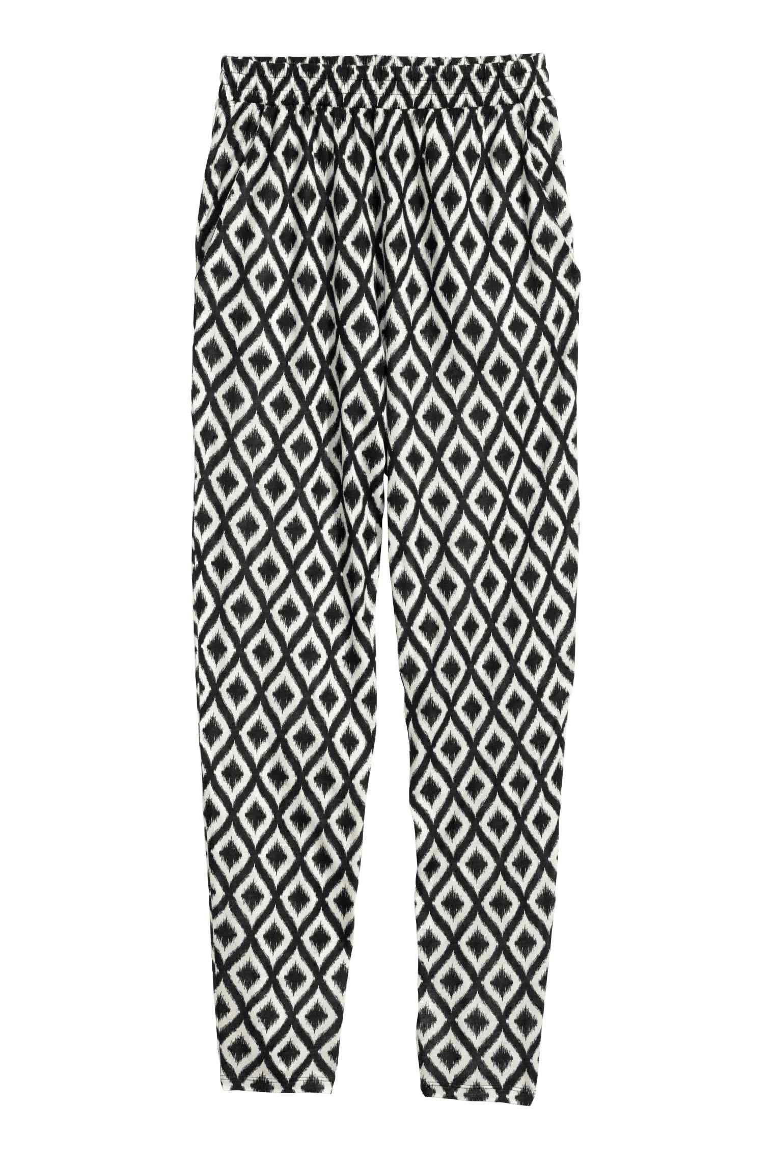 Pantaloni In Jersey Fantasia Pantalones Mujer Pantalon Dama Pantalones
