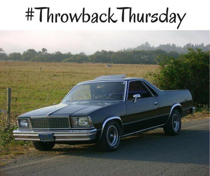 Tbt 1979 Gmc Caballero Gmc Chevrolet El Camino Chevrolet