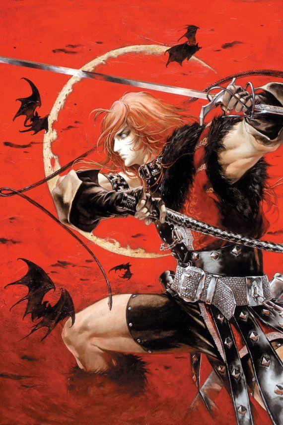 Castlevania Simon Belmont Poster Art, Game art
