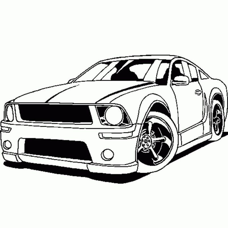 Free Car Coloring Pages To Print In 2020 Cars Coloring Pages Sports Cars Cool Car Drawings