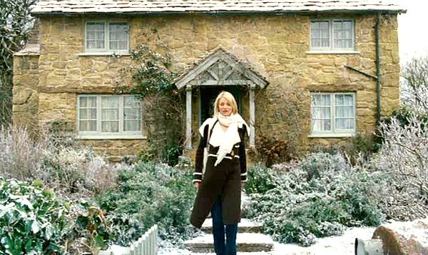 Iris's English cottage in the Holiday: I fell in love with this movie (and Cameron Diaz's wardrobe!) all over again during this past holiday season. So cute.
