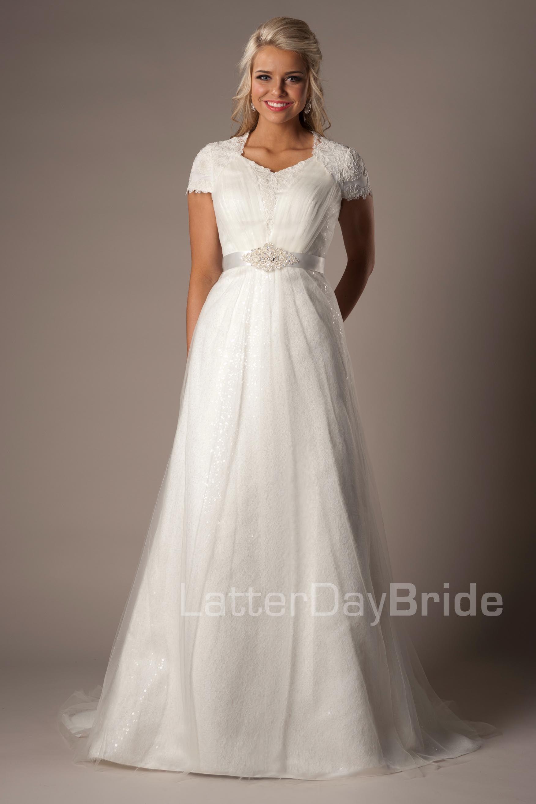 2a0963991ee0 Newbury Modest Wedding Dress Latter Day Bride & Prom Gateway Bridal ...
