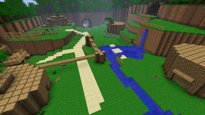 Legend of Zelda: Ocarina of Time - Minecraft Map Minecraft ...