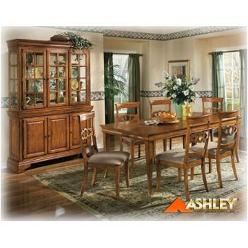 D327 02 Ashley Furniture Villa Marie Dining Room Chair China CabinetDining