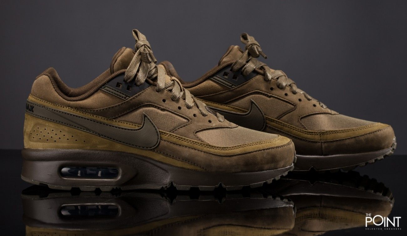 olive green nike airmax | Shop Nike Air Max Bw Prm Olive Green at the  sneakers