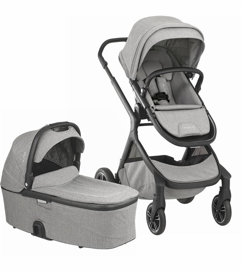 Nuna demi grow stroller frost single