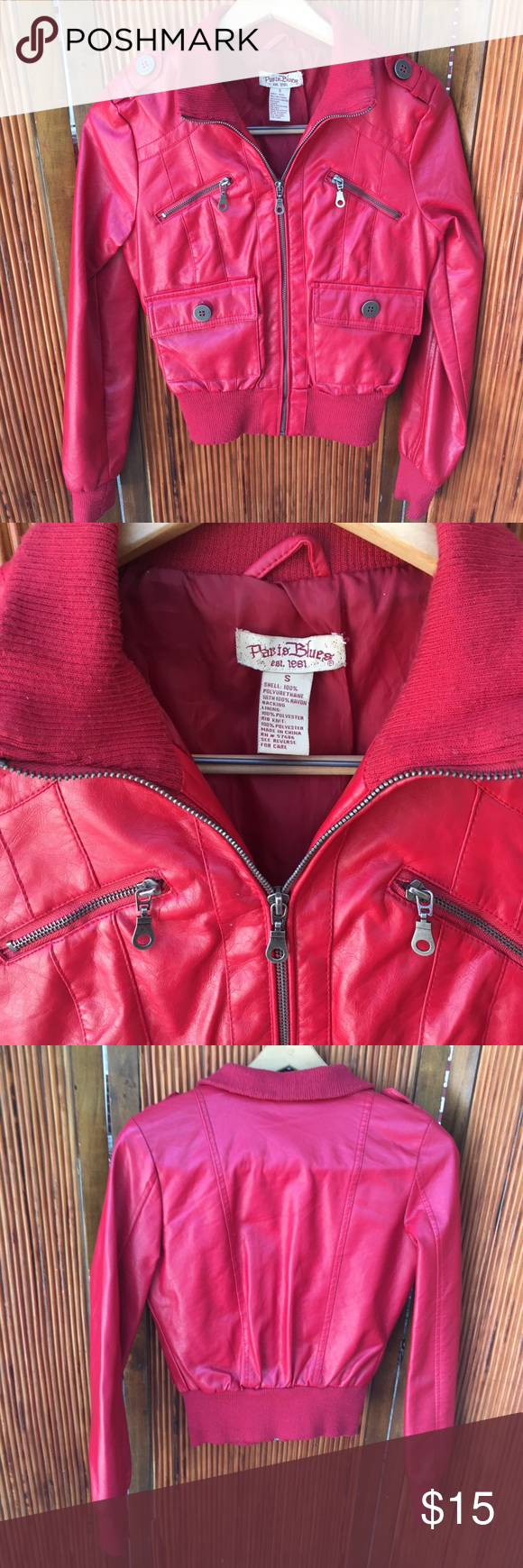 Paris Blues Red Jacket Used Once In Great Conditions No Damage No Stains Bundle More Save More Paris Blues Jackets C Red Jacket Paris Blues Jackets [ 1740 x 580 Pixel ]