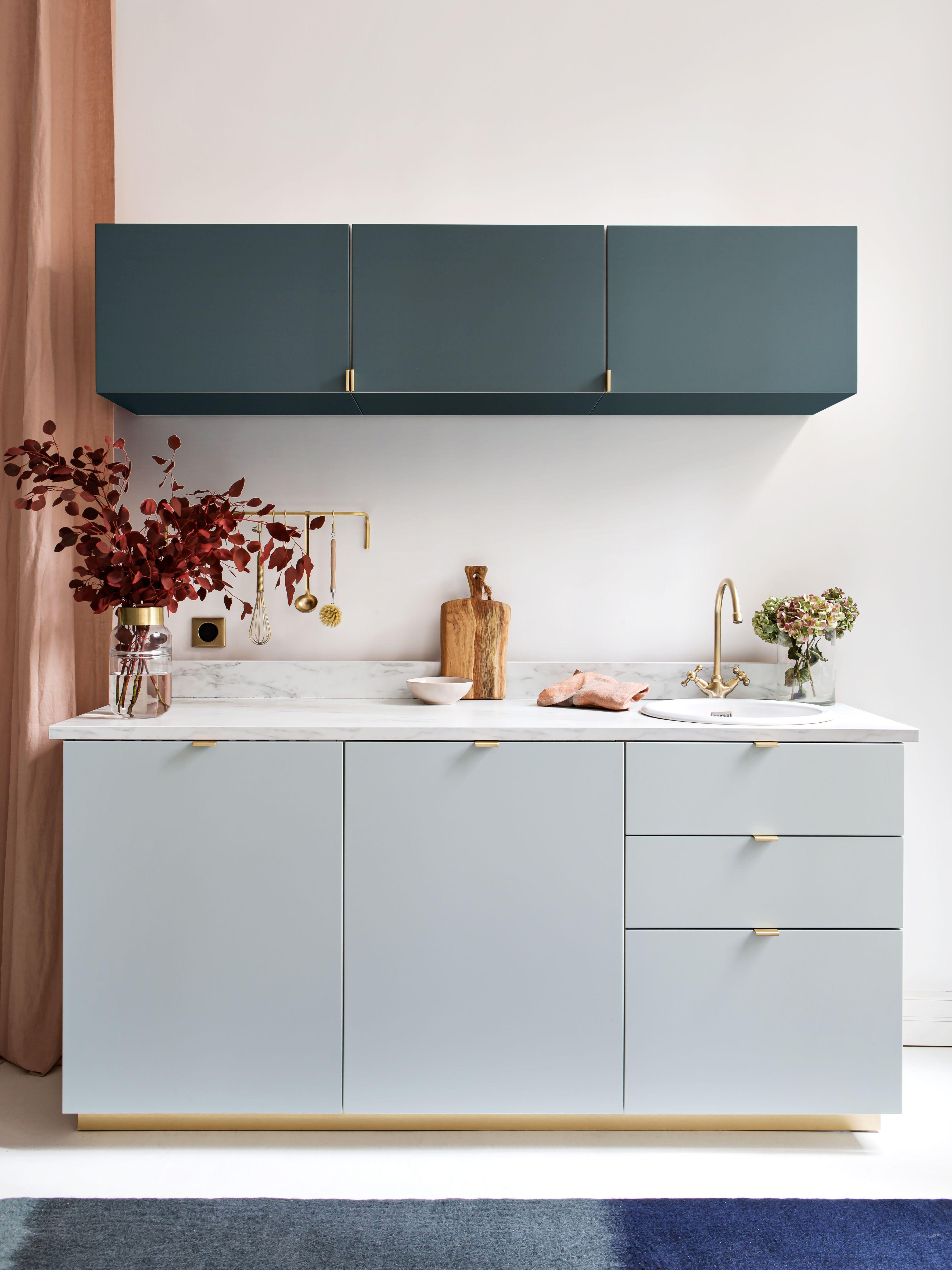 Cuisine Plum Bi Colore En 2020 Meuble De Cuisine Ikea Meuble Cuisine Cuisine Ikea