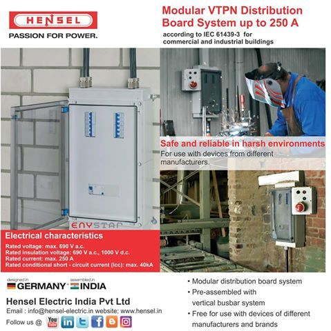 Competence in distribution board systems! Modular VTPN Distribution ...
