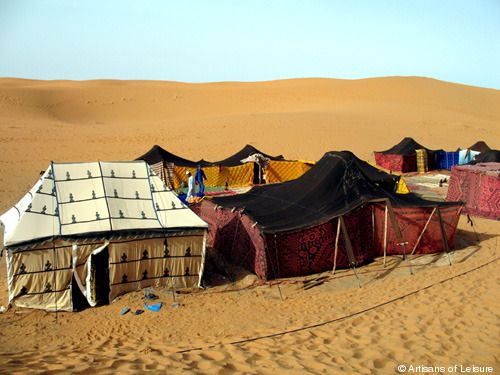 Moroccan caravan tents- the real thing ) & Google Image Result for http://www.artisansofleisuretraveler.com ...