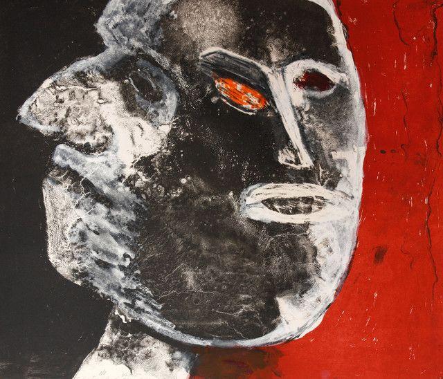 George McNeil, 'Mythic Head #2,' 1975, Acme Fine Art