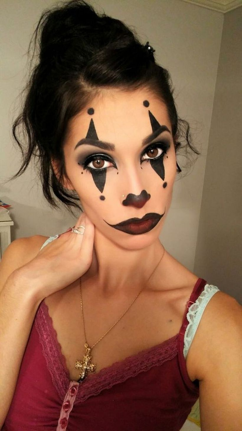 Maquillaje Maquillaje de payaso bonito, Maquillaje