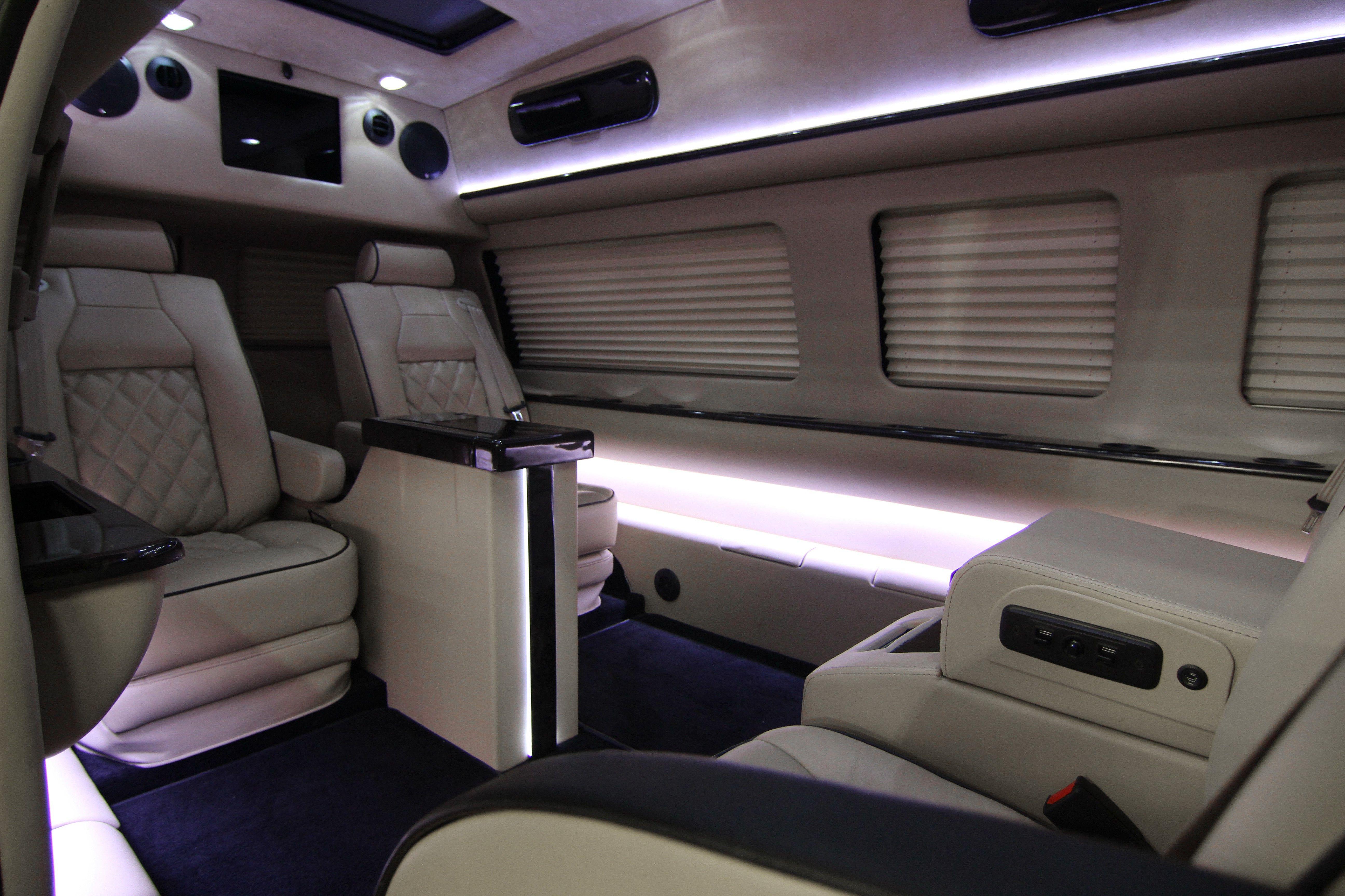 Custom Luxury Executive Interior Luxury Car Seats Interior