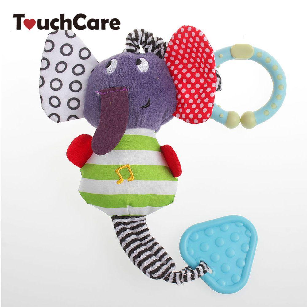 코끼리 아기 toys 딸랑이 새로운 유아 봉제 모바일 아기 toys 거품 침대 자동차 매달려 딸랑이 비비 유모차