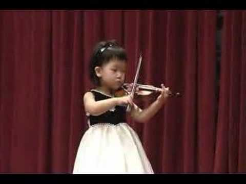 Hi Cutie Kids Got Talent Girl Playing Violin Music For Kids
