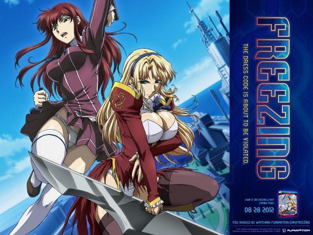 Freezing Wallpaper Basara Freezing Anime Anime Art Cool Pictures Wallpaper Manga