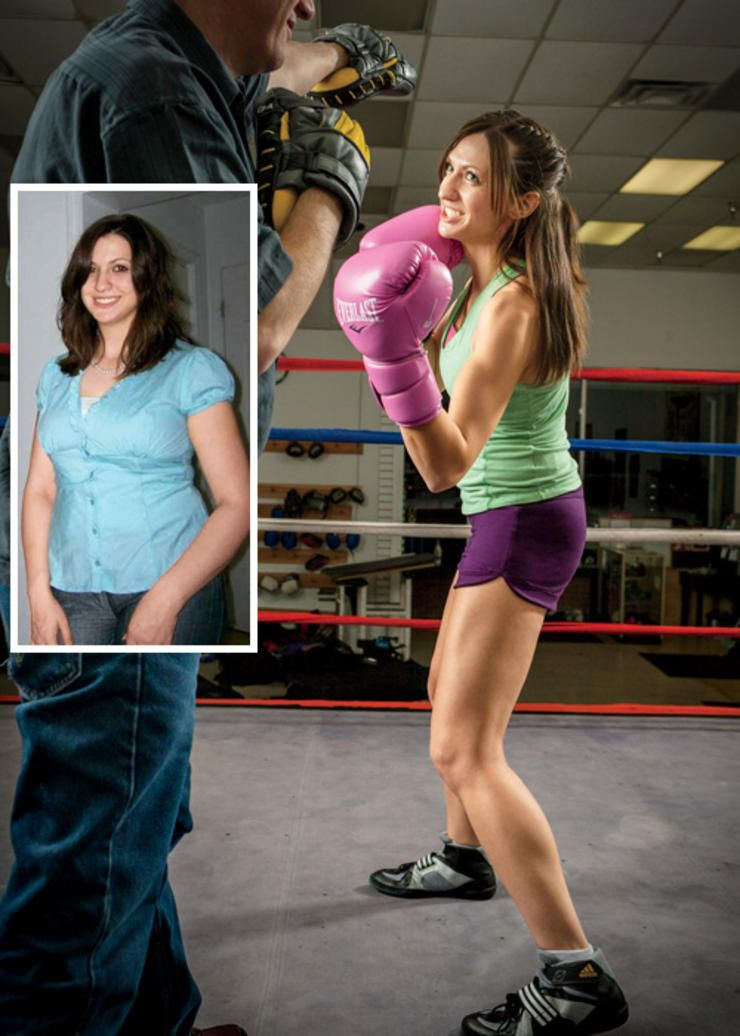 These healthy weight loss success stories (complete with before-and-after photos) will motivate you to eat right, break a sweat, and get the body you've always wanted