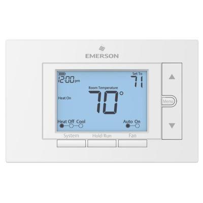 Emerson Premium 7 Day Programmable Digital Thermostat Up310 In 2020 Digital Thermostat Programmable Thermostat Thermostat