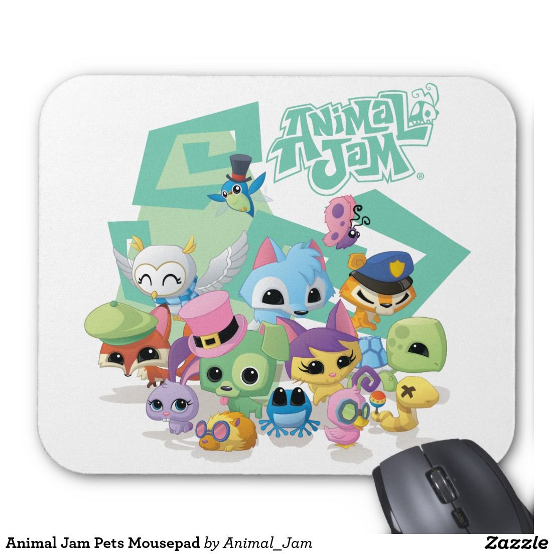 Animal Jam Pets Mousepad Animal jam, Pets