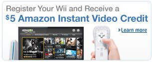 FREE $5 Amazon Instant Video Credit for Nintendo Wii Owners on http://www.icravefreebies.com/