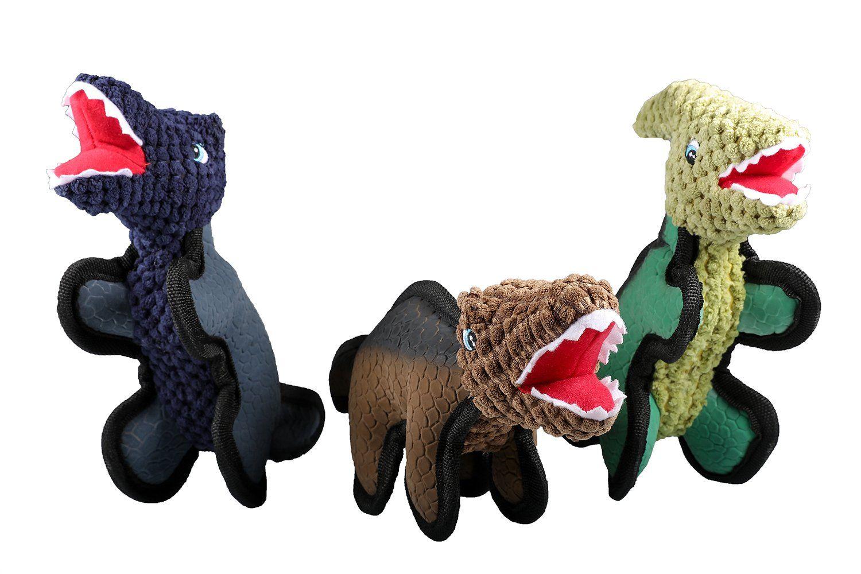 Lizpet Squeaker Durable Tough Plush Dog Squeaky Toy